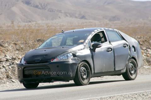 2009 Ford Fiesta Sedan Spy Shots Ford News Blog