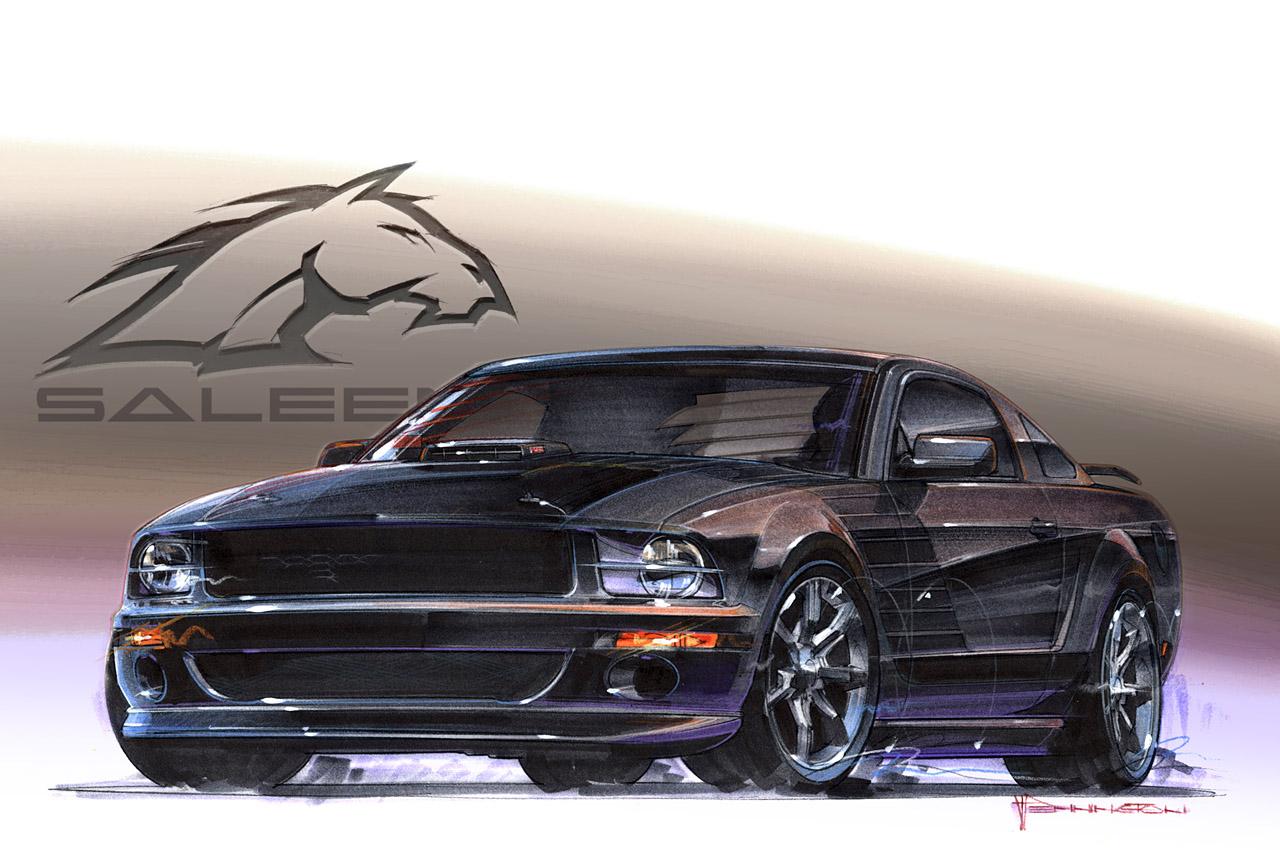 2008 Saleen Dark Horse  Ford News Blog