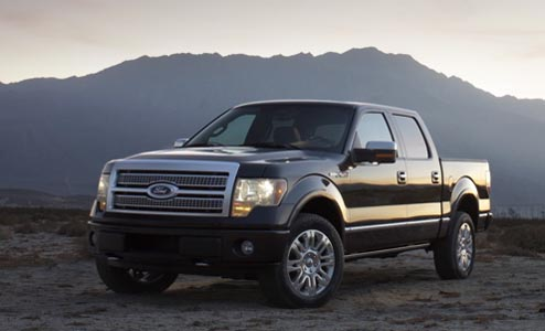 2009 ford f 150 more power towing mileage ford news blog. Black Bedroom Furniture Sets. Home Design Ideas