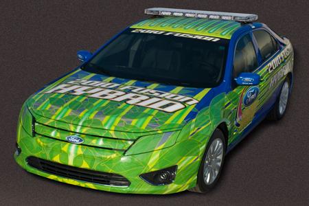 2010 Ford Fusion Hybrid NASCAR Pace Car