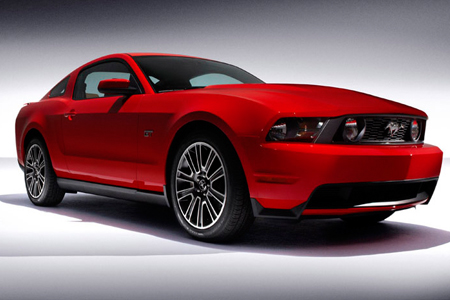 2010 Ford Mustang unveiled