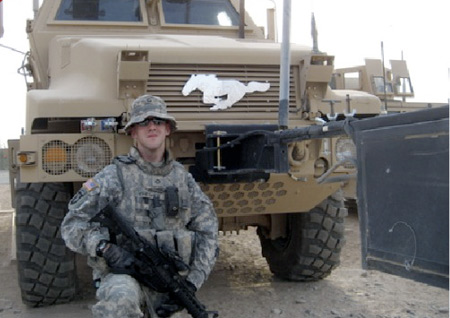 2010 Mustang winner in Iraq