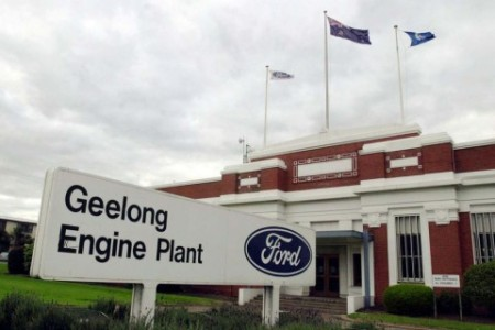 Ford's Geelong engine plant