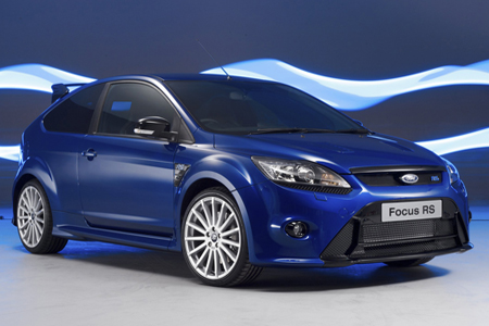 Ford Focus RS blue