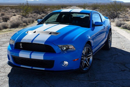 2010 Shelby GT500 Mustang unveiled