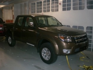 Ford Ranger MAX production spy shot