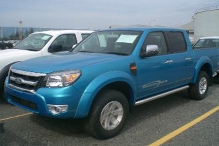 Ford Ranger MAX production spy shot