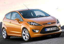 What Car? Fiesta ST rendering