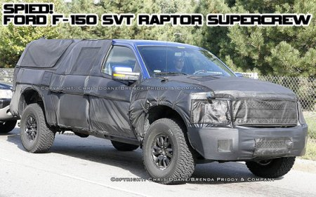 2011 Ford F150 Raptor Supercab