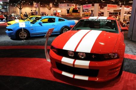 2009 SEMA Mustangs