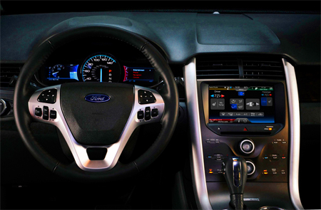 Interior Wise The  Ford Edge